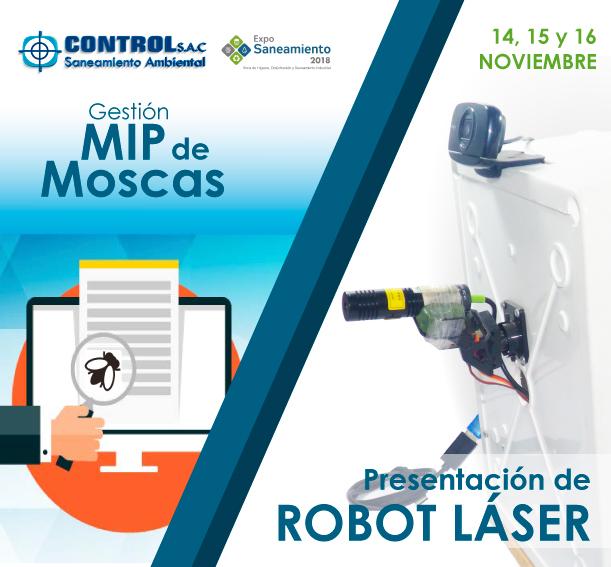 Salón de Innovación: Diseño de Robot láser para control de aves