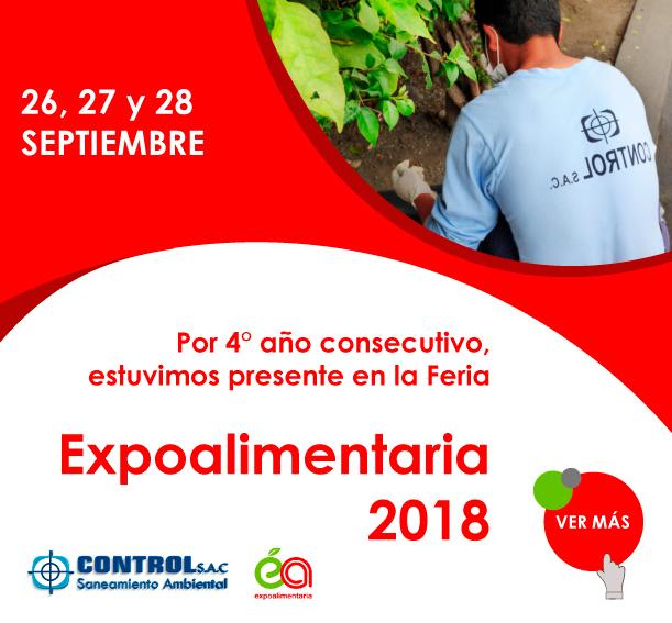 Participación de Control S.A.C. en Expoalimentaria 2018