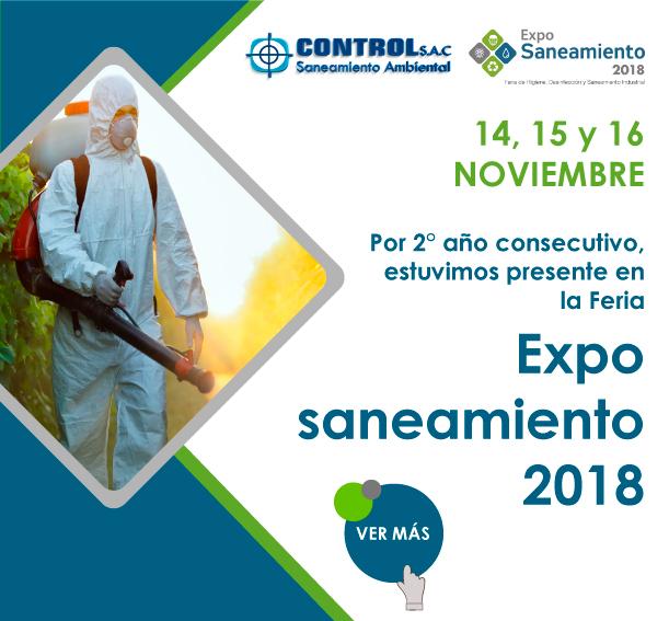 Participación de Control S.A.C. en la Feria  Exposaneamiento 2018.