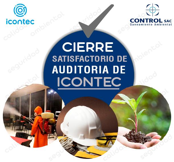 Cierre satisfactorio de auditoria ISO 9001, ISO 14001 y OHSAS 18001 con ICONTEC INTERNACIONAL