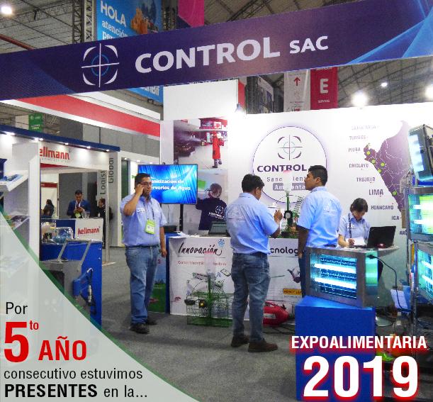 Control SAC en Expoalimentaria 2019