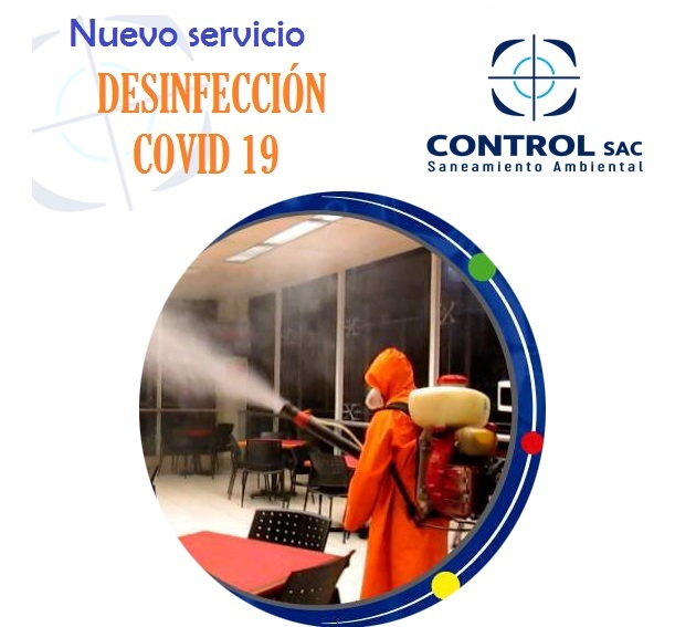 Conoce nuestro Nuevo Servicio: Desinfección COVID-19