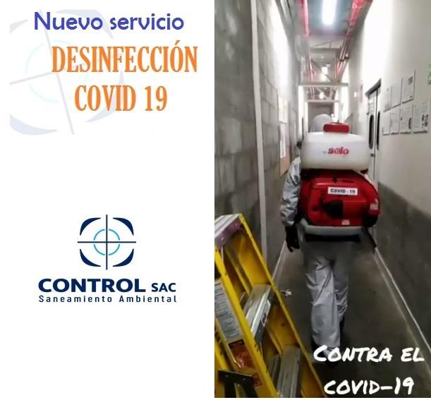 Video: Nuevo Servicio Desinfección COVID 19