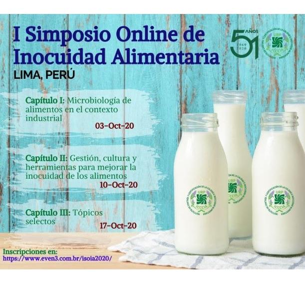 Evento: I Simposio Online de Inocuidad Alimentaria